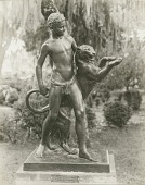 view Boy and Panther [sculpture] / (photographer unknown) digital asset number 1