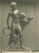 view Boy and Panther [sculpture] / (photographed by De Witt Ward) digital asset number 1