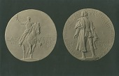 view Knights of Columbus: Lafayette Medal [sculpture] / (photographed by De Witt Ward) digital asset number 1