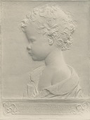 view Horatio Hathaway Brewster Relief [sculpture] / (photographed by De Witt Ward) digital asset number 1
