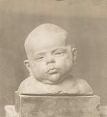 view Jackie: Portrait Study of a Baby [sculpture] / (photographed by De Witt Ward) digital asset number 1