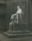view Benjamin Franklin (side view) [sculpture] / (photographed by Gladys Muller) digital asset number 1