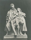 view Thomas Hopkins Gallaudet and Alice Cogswell [sculpture] / (photographer unknown) digital asset number 1