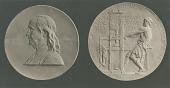 view Benjamin Franklin Medal [sculpture] / (photographed by De Witt Ward) digital asset number 1