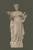 view Greek Lyric Poetry [sculpture] / (photographed by A. B. Bogart) digital asset number 1