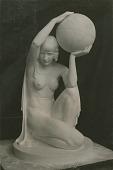 view The Globe Sundial [sculpture] / (photographed by Mattie Edwards Hewitt) digital asset number 1