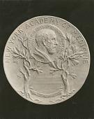 view New York Academy of Medicine Medal (obverse) [sculpture] / (photographed by Louis H. Dreyer) digital asset number 1