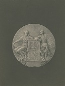 view Hispanic Society of America Medal (obverse) [sculpture] / (photographer unknown) digital asset number 1