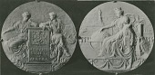 view Hispanic Society of America Medal (obverse and reverse) [sculpture] / (photographer unknown) digital asset number 1