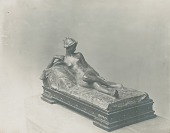 view Reclining Nude [sculpture] / (photographer unknown) digital asset number 1