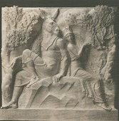 view Scenes from Shakespeare: A Midsummer Night's Dream [sculpture] / (photographed by De Witt Ward) digital asset number 1