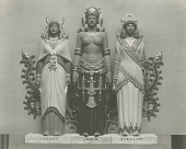 view Egypt, India, and Babylon [sculpture] / (photographed by De Witt Ward) digital asset number 1