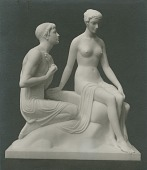 view Courtship [sculpture] / (photographed by De Witt Ward) digital asset number 1
