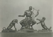 view Orpheus and Two Cubs [sculpture] / (photographed by De Witt Ward) digital asset number 1