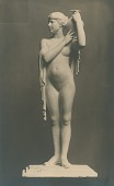view Girl with Vase [sculpture] / (photographed by De Witt Ward) digital asset number 1