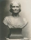 view Charlotte Saunders Cushman [sculpture] / (photographed by De Witt Ward) digital asset number 1