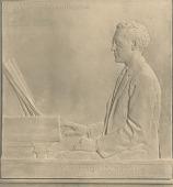 view Arthur Whiting [sculpture] / (photographed by De Witt Ward) digital asset number 1