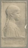 view Frances Lydia Hand [sculpture] / (photographed by De Witt Ward) digital asset number 1