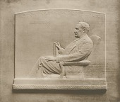 view Stephen Henry Olin [sculpture] / (photographed by Louis H. Dreyer) digital asset number 1
