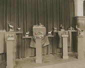 view Exhibition of Sculptures [photograph] / (photographed by Frances Benjamin Johnston and Mattie Edwards Hewitt) digital asset number 1