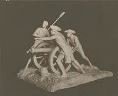 view Model for Memorial to the Defendants of New Haven [sculpture] / (photographed by A. B. Bogart) digital asset number 1