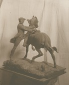 view Paul Revere Mounting His Horse [sculpture] / (photographer unknown) digital asset number 1