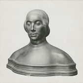 view Bust: Elevation [sculpture] / (photographed by William Smedley) digital asset number 1