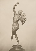 view Bacchante and Infant Faun [sculpture] / (photographed by Detroit Publishing Company) digital asset number 1