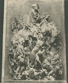 view Model for The Battle of Princeton [sculpture] / (photographed by De Witt Ward) digital asset number 1