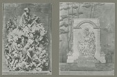 view Model and Sketch for The Battle of Princeton (2 views) [sculpture] / (photographer unknown) digital asset number 1