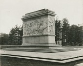 view Soldiers and Sailors Monument (back) [sculpture] / (photographed by Knapp) digital asset number 1