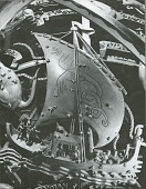 view Celestial Sphere (detail - Figures on Ship) [sculpture] / (photographed by Walter J. Russell) digital asset number 1
