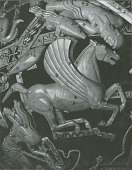 view Celestial Sphere (detail - Pegasus) [sculpture] / (photographed by Walter J. Russell) digital asset number 1