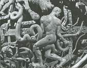 view Celestial Sphere (detail - Ophiuchus and the Serpent) [sculpture] / (photographed by Walter J. Russell) digital asset number 1