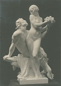 view Nymph and Satyr [sculpture] / (photographed by Louis H. Dreyer) digital asset number 1