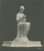 view Design for a Garden Fountain [sculpture] / (photographed by Louis H. Dreyer) digital asset number 1