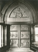 view Astor Memorial Doors: South Doors [sculpture] / (photographed by Wurts Brothers) digital asset number 1