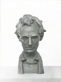 view Abraham Lincoln [sculpture] / (photographed by Percy Rainford) digital asset number 1