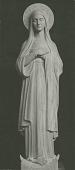 view Blessed Virgin [sculpture] / (photographed by Albin Polasek) digital asset number 1
