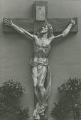 view Crucifix [sculpture] / (photographed by Albin Polasek) digital asset number 1