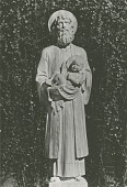 view St. Joseph Carrying the Christ Child [sculpture] / (photographed by Albin Polasek) digital asset number 1