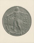 view Czechoslovakian Cause Medal (obverse) [sculpture] / (photographer unknown) digital asset number 1