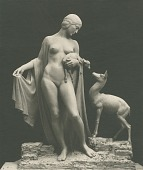 view Model for Forest Idyl [sculpture] / (photographer unknown) digital asset number 1