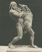 view Primeval Struggle [sculpture] / (photographer unknown) digital asset number 1