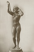 view Maiden of the Roman Campagna [sculpture] / (photographer unknown) digital asset number 1