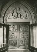 view Astor Memorial Doors: North Doors [sculpture] / (photographed by Wurts Brothers) digital asset number 1