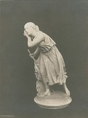 view Nydia, the Blind Flower Girl of Pompeii [sculpture] / (photographed by Detroit Photographic Company) digital asset number 1