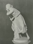 view Nydia, the Blind Flower Girl of Pompeii [sculpture] / (photographer unknown) digital asset number 1