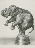 view Performing Elephant [sculpture] / (photographer unknown) digital asset number 1