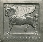 view Winged Horse Relief [sculpture] / (photographer unknown) digital asset number 1